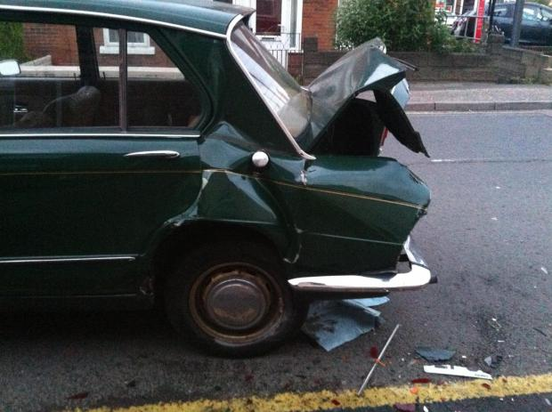 Gazette: Owner of classic car smashed in early hours collision 'sad to see her go'
