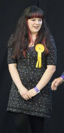 Jessica Scott-Boutell won for the Lib Dems in Stanway