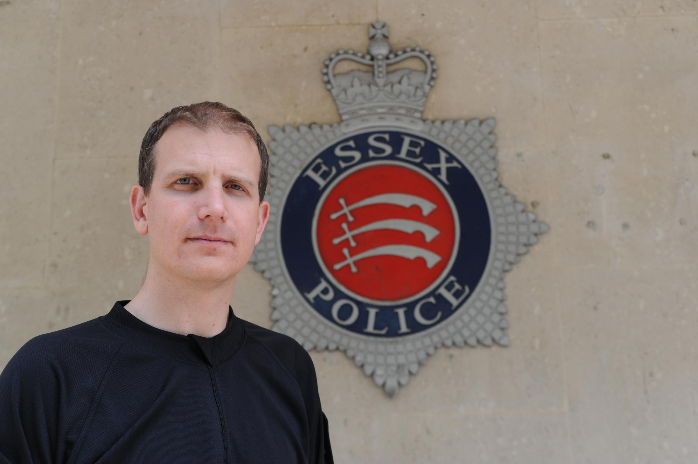 Chief inspector Simon Anslow, district commander for Southend
