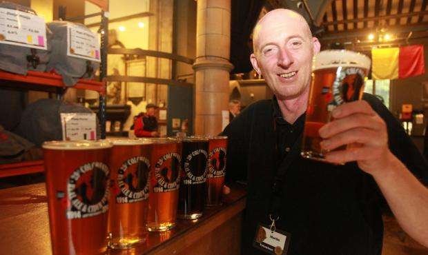 Beer lovers flock to the 29th Colchester Real Ale and Cider Festival
