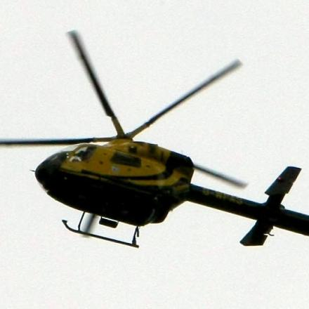 Police helicopter joins search f