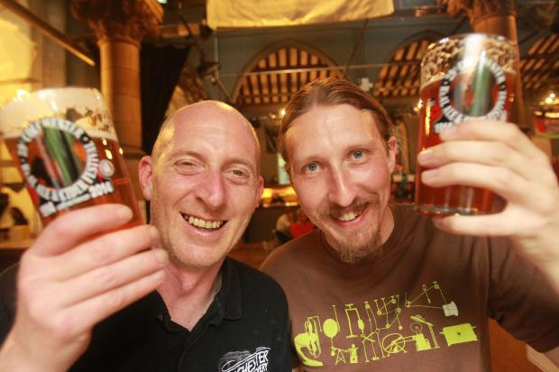 All hail the ale! 3,458 drink 13,000 pints at festival