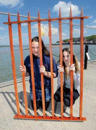 Owners lose bid to replace controversial quay fence with new wrought-iron barrier
