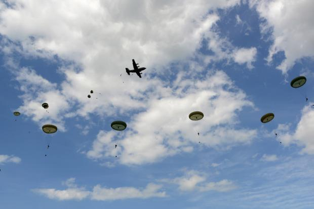 Gazette: Colchester paras drop into Normandy to mark 70th anniversary of D-Day