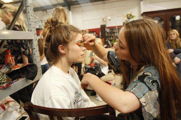 Gazette: Students' fashion show boosts charity's profile