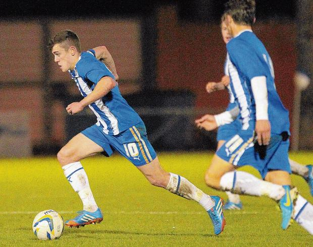 Promise - Sammie Szmodics made a big impression after forcing his way into Joe Dunne's first team at Colchester United, last season.