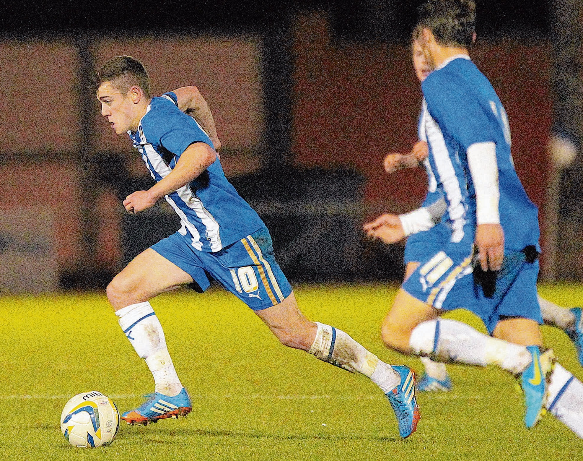 On target - Sammie Szmodics netted for Colchester United in their 4-1 friendly win over AFC Sudbury.