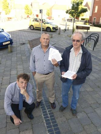 Residents issue ultimatum to authority and developers in row