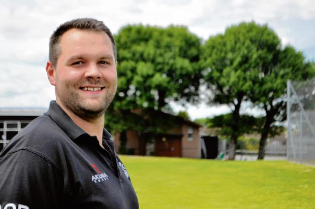 New role - Anthony O'Riordan has taken over as Colchester Rugby Club's new head coach.