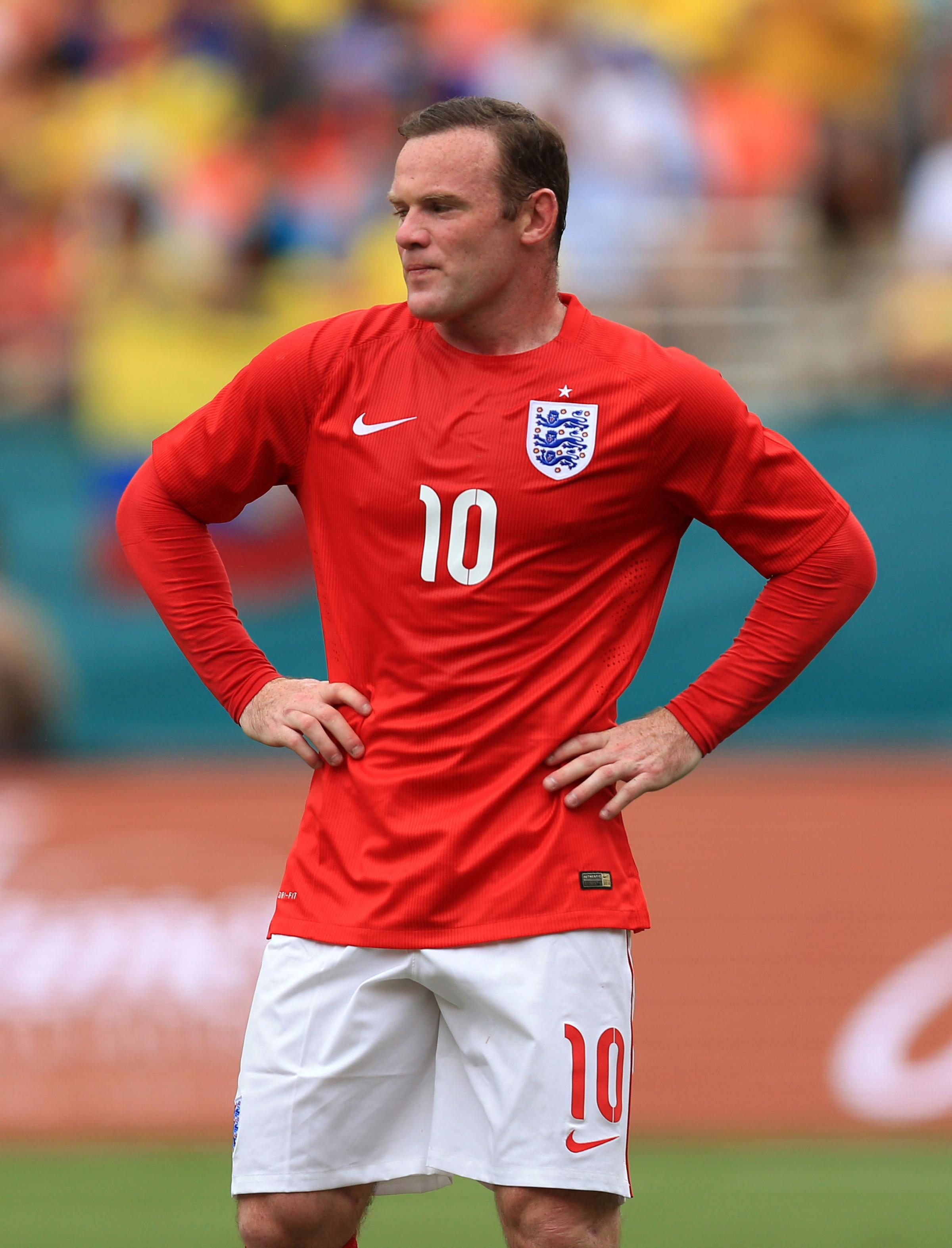 Wayne Rooney, will he be in the England team to face the Italians