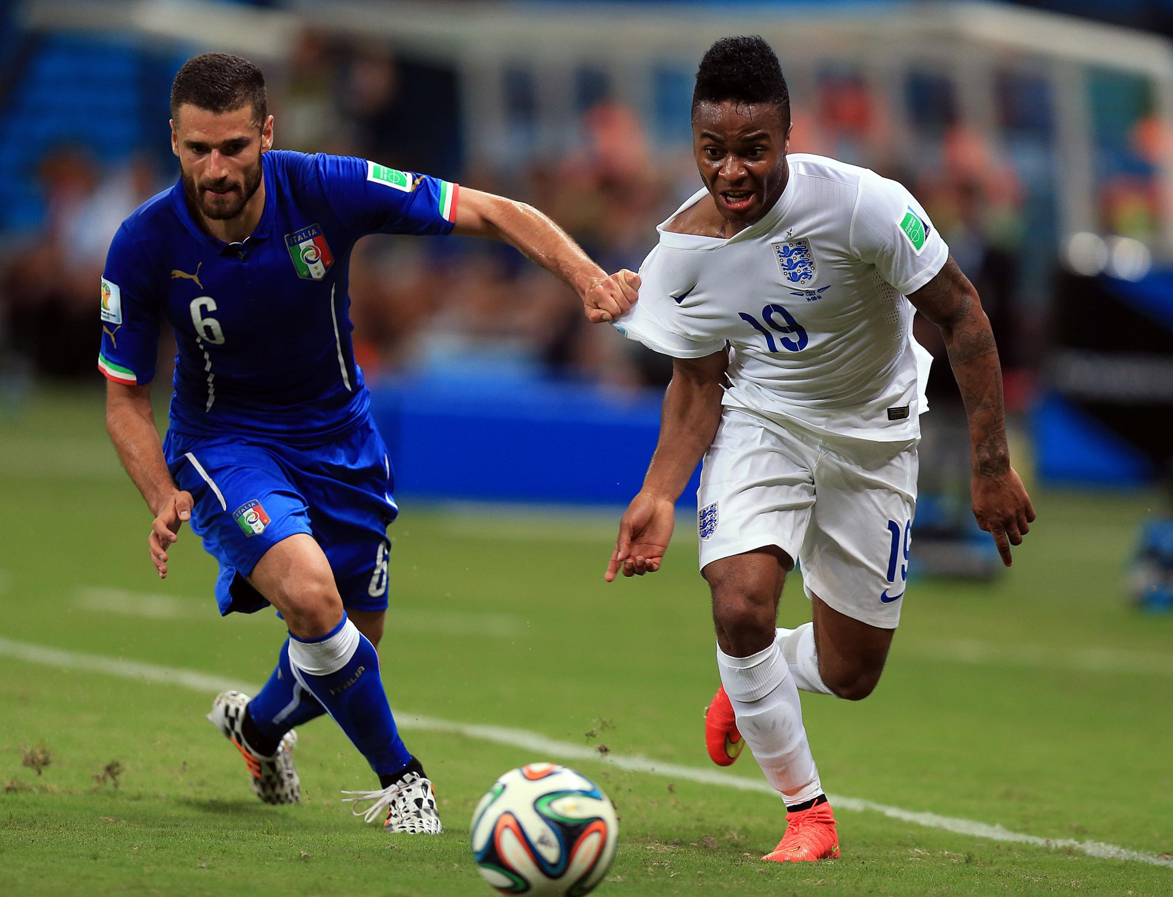 Raheem Sterling has the pace to unlock Uruguay
