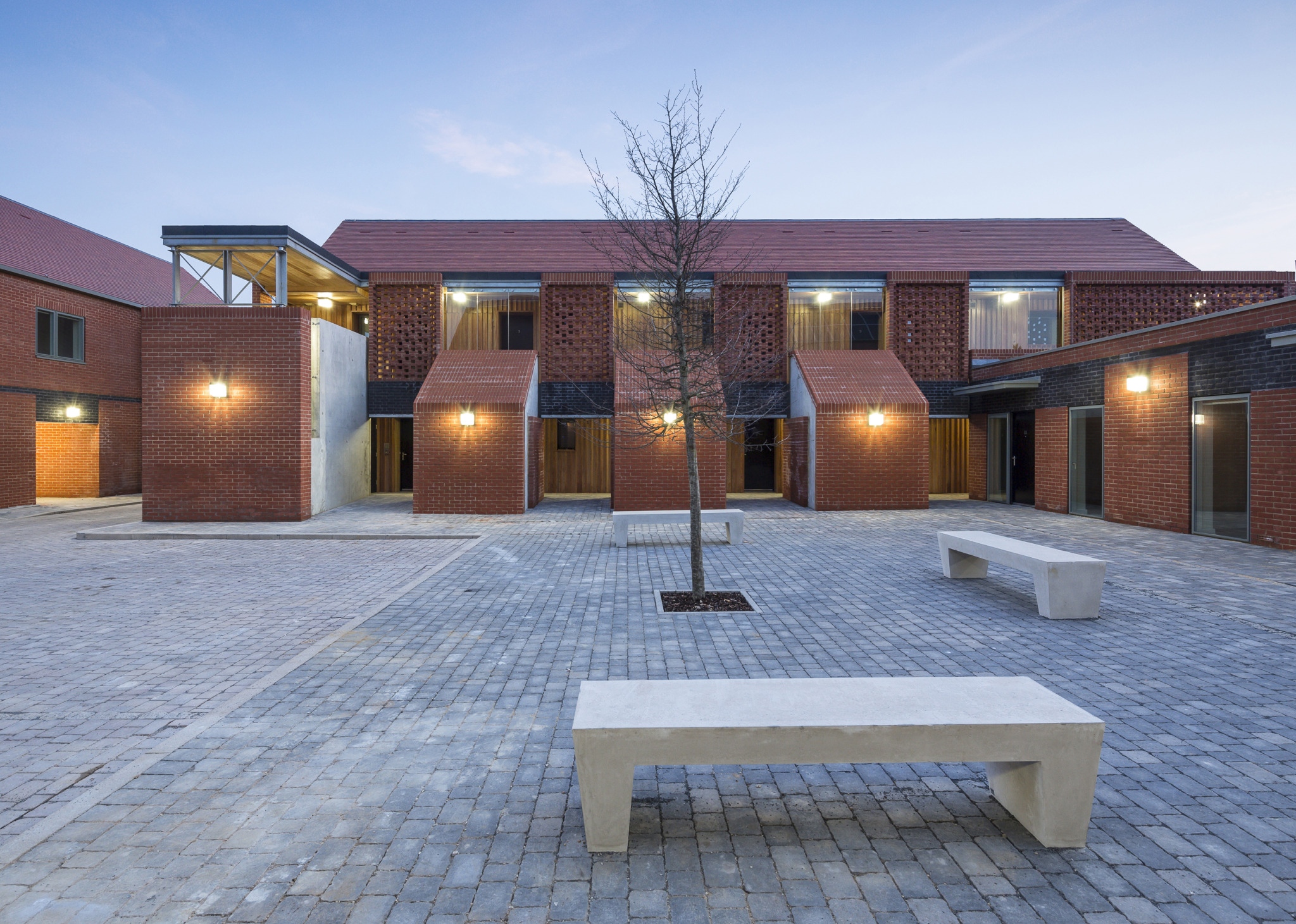 Housing for the homeless scheme gets national attention
