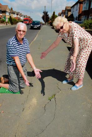 Our pavements are a hole lot of trouble
