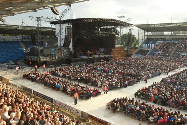 'Where Elton goes, others will follow': Will Weston Homes become regular concert venue?