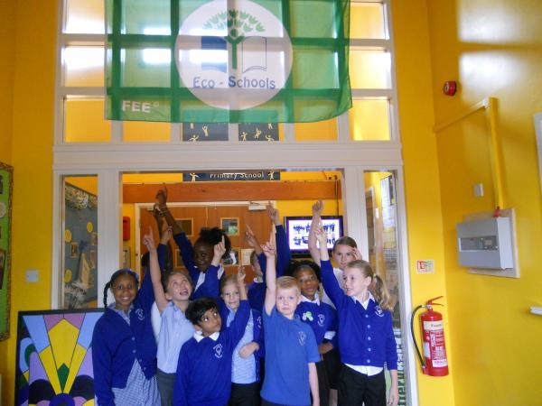 Gazette: Primary school is 'eco' pacesetter