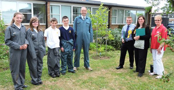 Judges visit Thomas Lord Audley school