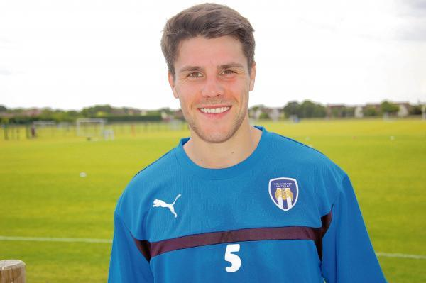 New recruit - Dan Holman has signed a two-year deal with Colchester United after leaving Braintree Town. Picture: WWW.CU-FC.COM