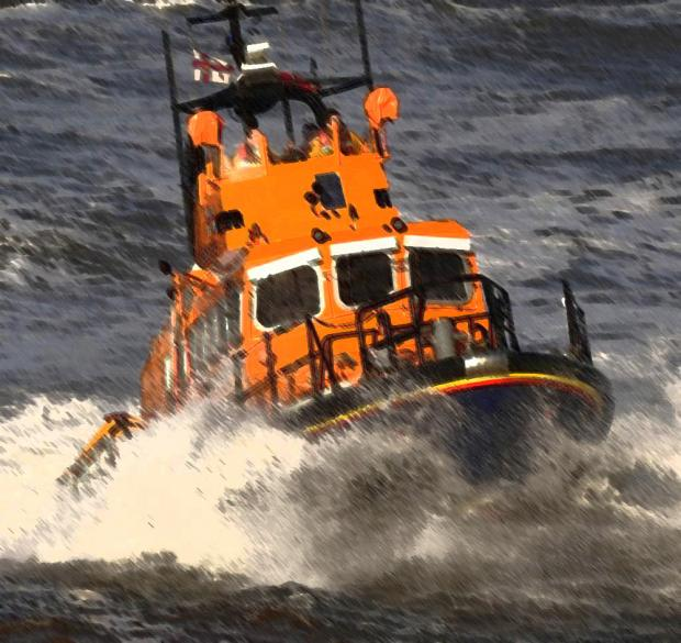 Harwich lifeboat called to rescue vintage yacht