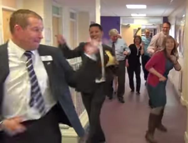 Headteacher 'Happy' staff's spoof video has gone viral