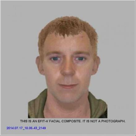 Police issue e-fit of burglary suspect