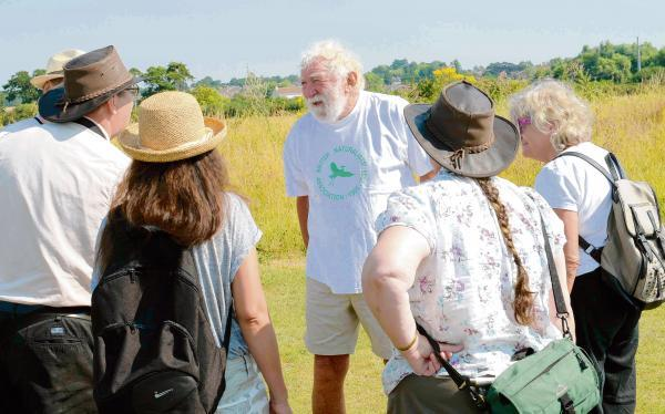Wildlife enthusiasts wowed by TV presenter David Bellamy
