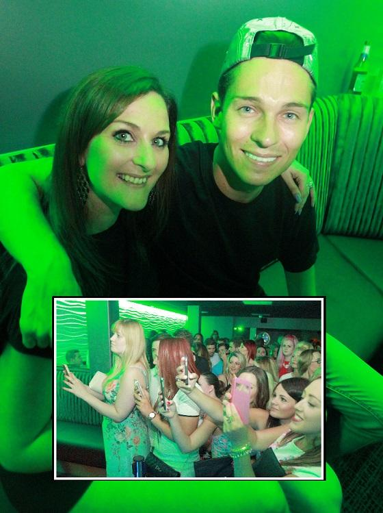Hundreds see Joey Essex officially open Clacton night club