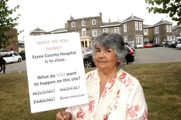 Campaigner launches one woman campaign over future of Essex County Hospital