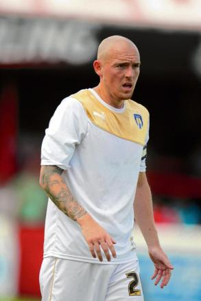 Aiming high - Colchester United's new signing Sean Clohessy is looking forward to the new season.