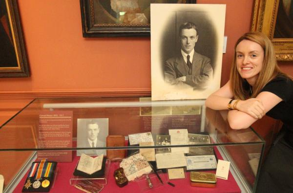 Museum uses Twitter to tell story of hero Conrad 100 years later