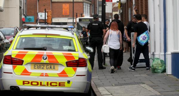 Teenager arrested after shoppers reported a man with a gun in Colchester town centre