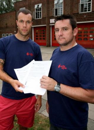 One in five firefighters to go at Colchester fire station