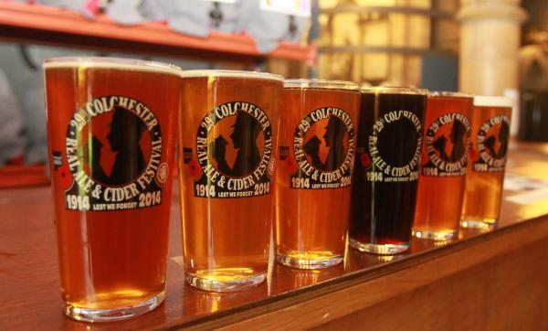 Ale festival fans select their favourite beer