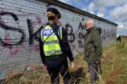 A CAMPAIGN to crack down on a growing amount of graffiti in Colchester has been launched.