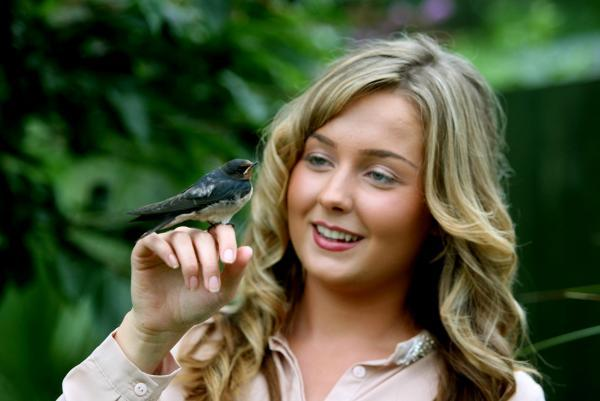 Chirpy comes to the call of saviour Lucy