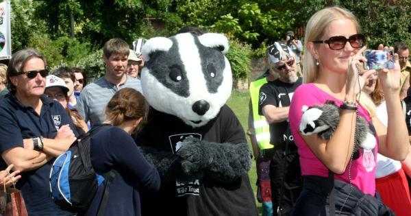Protesters demand an end to badger culling