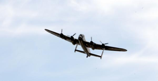 Lancasters set to fly over memorial to lost bomber crew