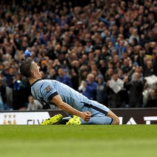 Stevan Jovetic was on target twice in Manchester City's comfor