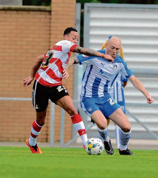 Confident - Sean Clohessy believes Colchester United can get on the winning trial soon. Picture: STEVE BRADING (CO97652-016)