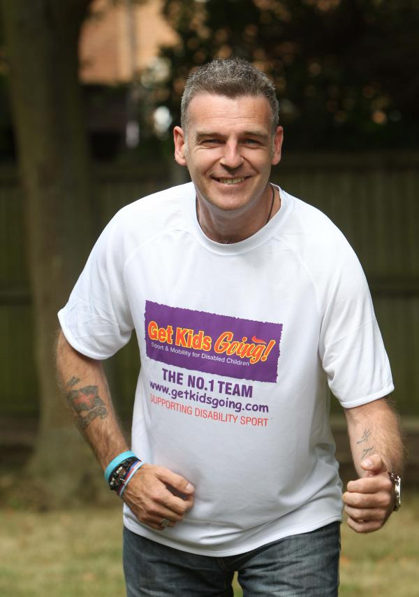 Simon aims to give back by running marathon for disabled children's charity