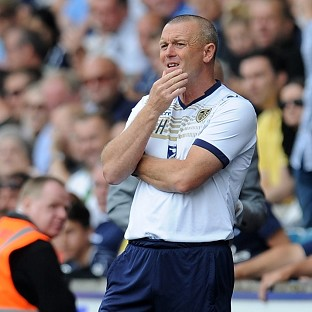 The pressure on Leeds boss Dave Hockaday intensified with defeat at Bradford