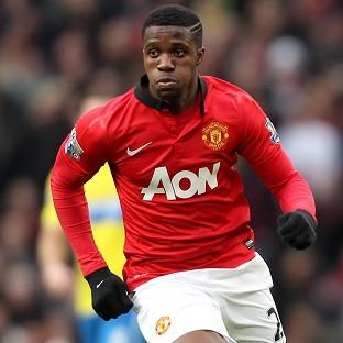 Wilfried Zaha struggled to make any imp