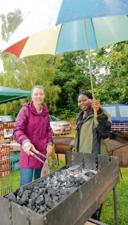 Kirby Fete spirit not dampened by downpour