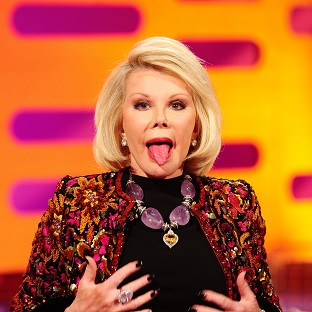 Stars rally round comedy queen Joan