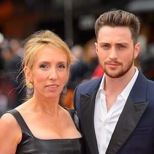 Sam Taylor-Johnson was left red-faced after police were called to her home when a