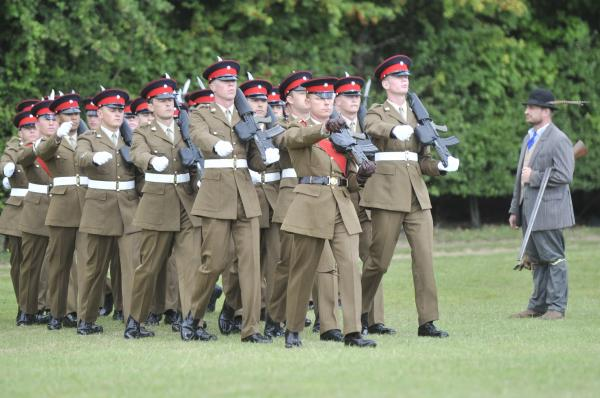 Golden jubilee celebrations for Royal Anglians
