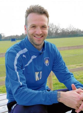 Change of role - Karl Duguid will coach Colchester United's youngsters having previously worked as first-team coach with former boss Joe Dunne.