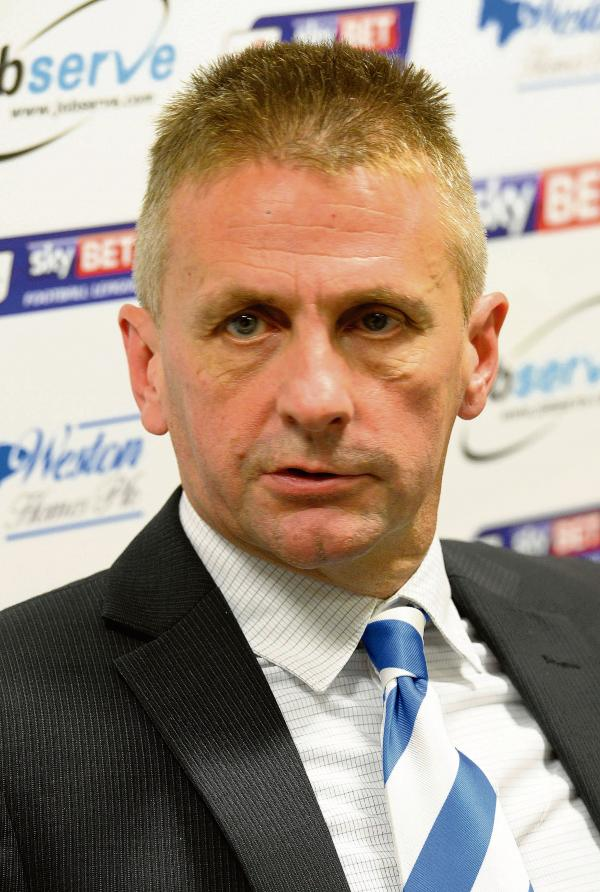 Realistic assessment - Colchester United chairman Robbie Cowling admits the club are punching above their weight in League One, at the present time. Picture: STEVE BRADING (CO98713-05)