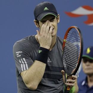 Andy Murray is out of