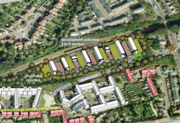 70 homes planned for site off Magdalen Street