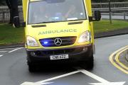 Woman injured in collision with forklift truck